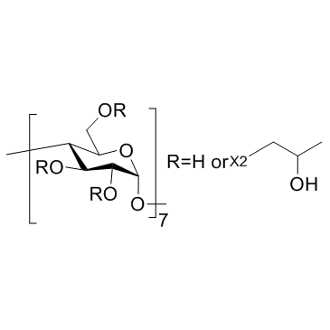 (2-Hydroxypropyl)-β-cyclodextrin (Hydroxypropyl betadex; HP-β-CD) [CAS 128446-35-5]